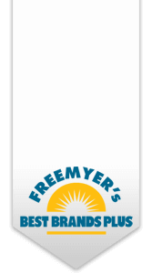 Freemyer's Best Brands Plus Logo